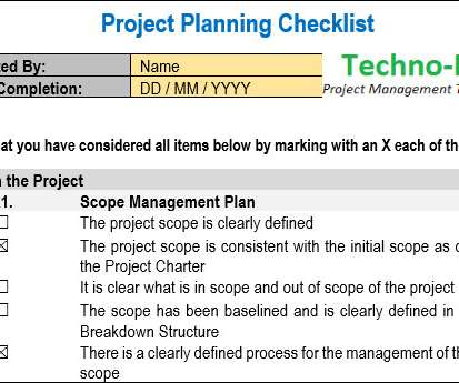 Download - Project Management Update